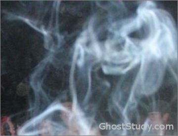 ghost in the cigarette smoke