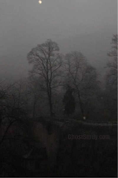 heidelberg castle witch ghost