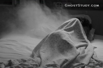 ghost in bed