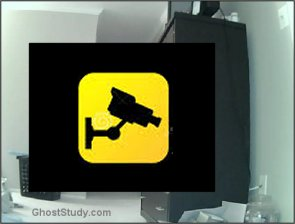 security cam motion detection ghost haunted