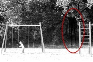 Slenderman slender man scary ghost