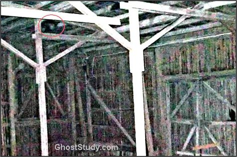 ghost in rafters spirit haunted