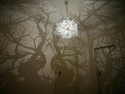 haunted trees in the bedroom