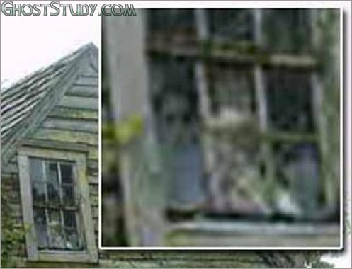 schoolhouse ghost window lonely oldest